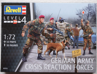 Revell 1/72 RV02522 German Army Crisis Reaction Forces (Modern)